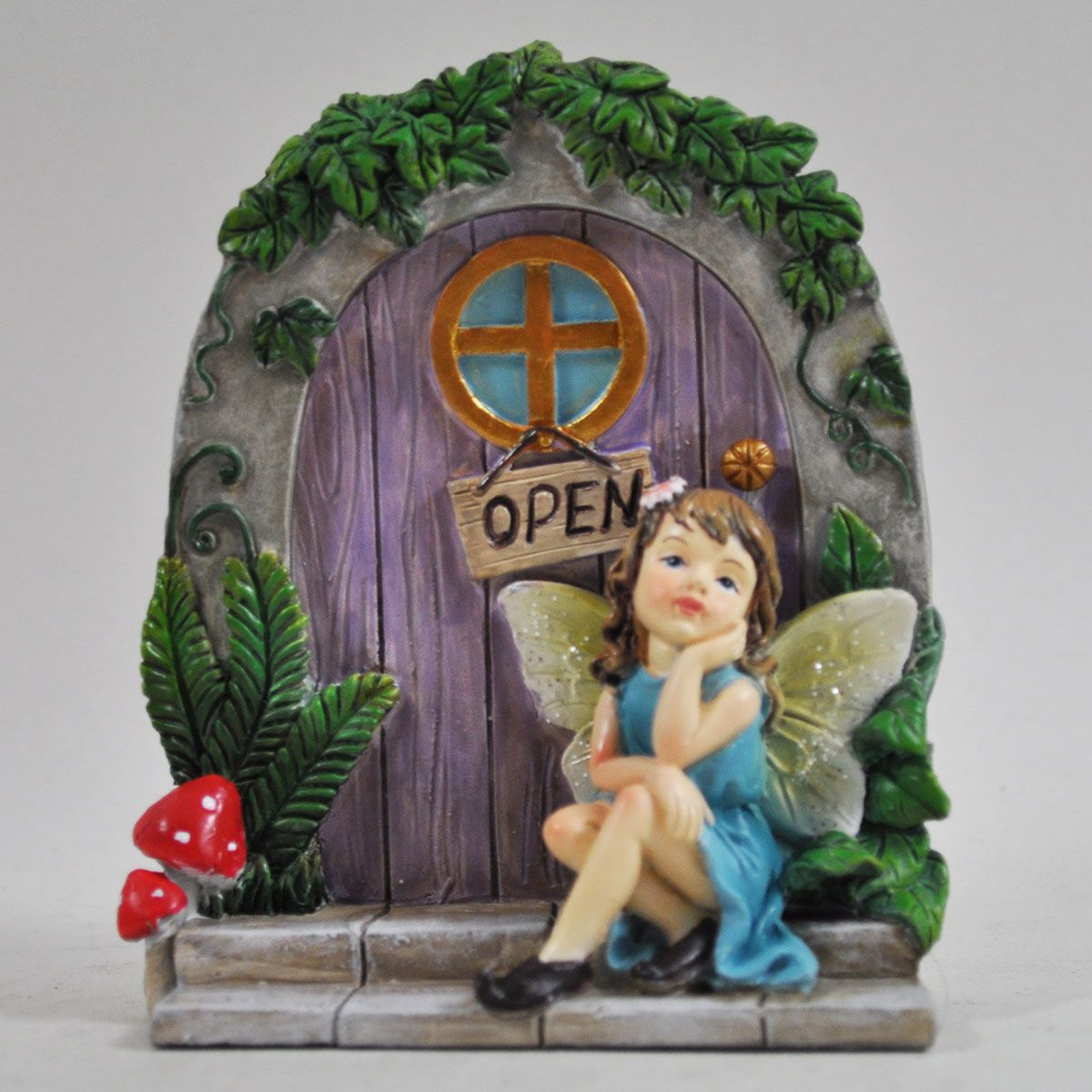 Day Dream Cottage Fairy Door with Fairy. & Day Dream Cottage Fairy Door with Fairy.. Pezcame.Com