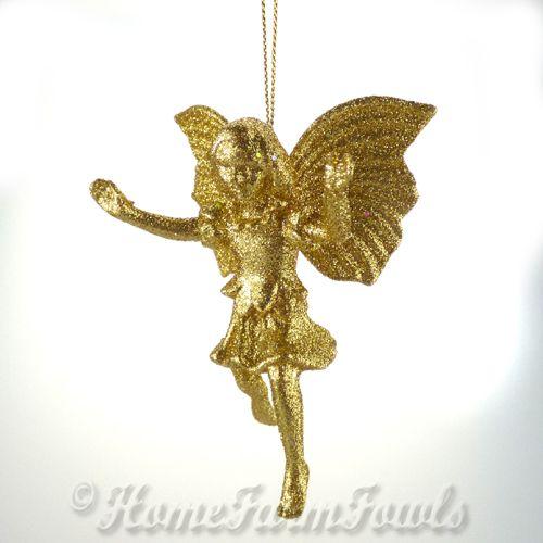 Gold Fairy Dust Flower Fairy