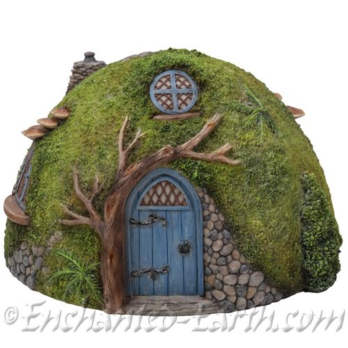 Vivid Arts Miniature World Round Hobbit House The Dome