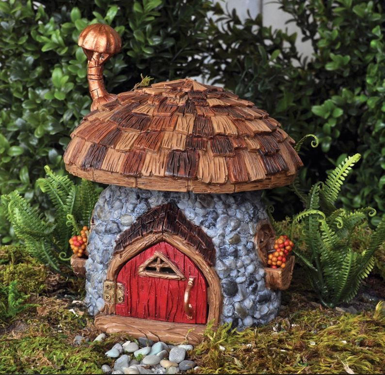 Extra Large Fiddlehead House Shingletown Mushroom Cottage