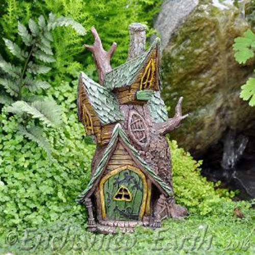 Fiddlehead Fairy Tree House