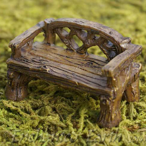 Wondrous Fiddlehead Rustic Woodland Bench Camellatalisay Diy Chair Ideas Camellatalisaycom