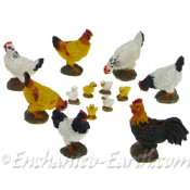 Minature Garden  Chickens