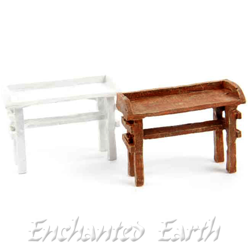Fantastic Miniature Garden Potting Bench Choose From Two Colours Ncnpc Chair Design For Home Ncnpcorg