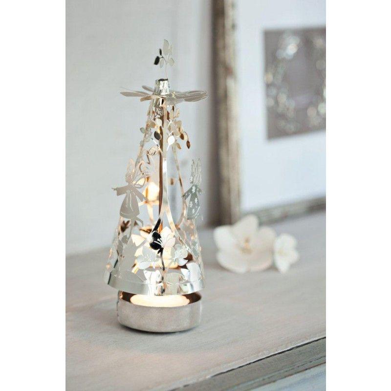 Image result for Spinning tealight  Xmas Tree