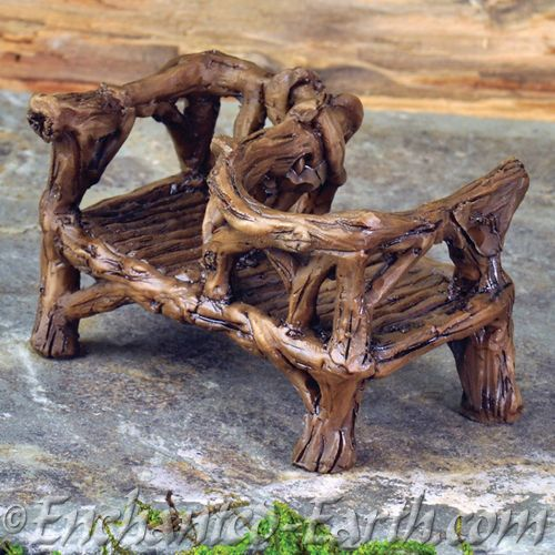 woodland kissing bench courting chair